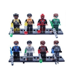 Minifigures Green Lantern Blocks Building