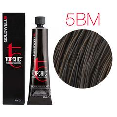 Goldwell Topchic 5BM (средне-коричневый матовый ) - Cтойкая крем краска