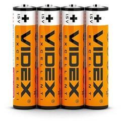 Батарейки Videx R03, AAA (4/60)
