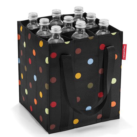 Сумка-органайзер для бутылок Bottlebag dots Reisenthel ZJ7009 | Купить в Москве, СПб и с доставкой по всей России | Интернет магазин www.Kitchen-Devices.ru