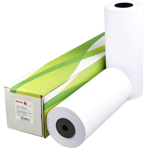 Бумага для ОфТех Xerox Architect (175мх420мм,д.76мм,80г)
