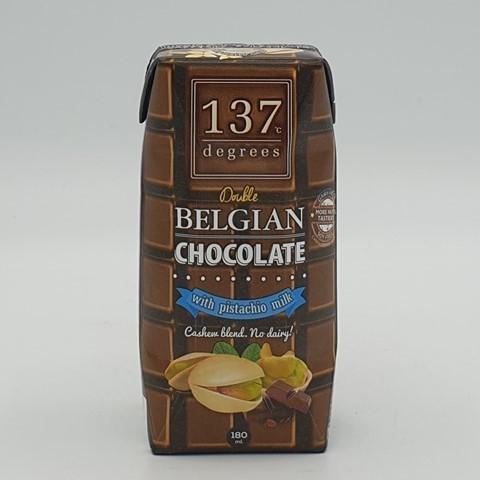 Молоко фисташковое с бельгийским шоколадом 137 degrees, 180 мл