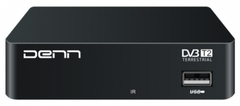 Цифровой эфирный приемник DVB-T2 DENN DDT100