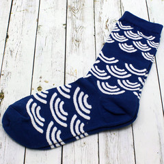 Носки Волны синие