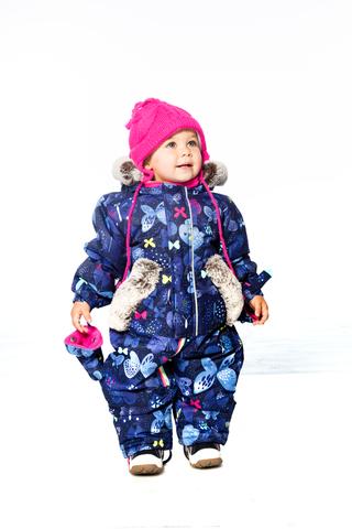 Deux par Deux зимний комбинезон для девочки
