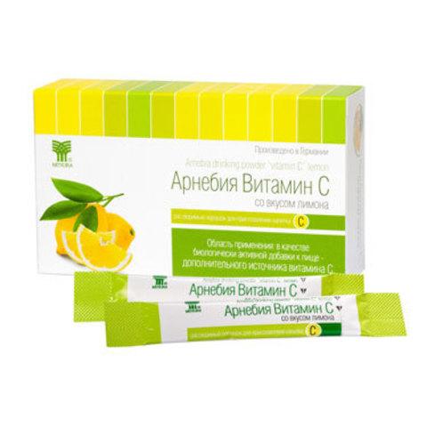 Арнебия Витамин С со вкусом лимона (в порошке)