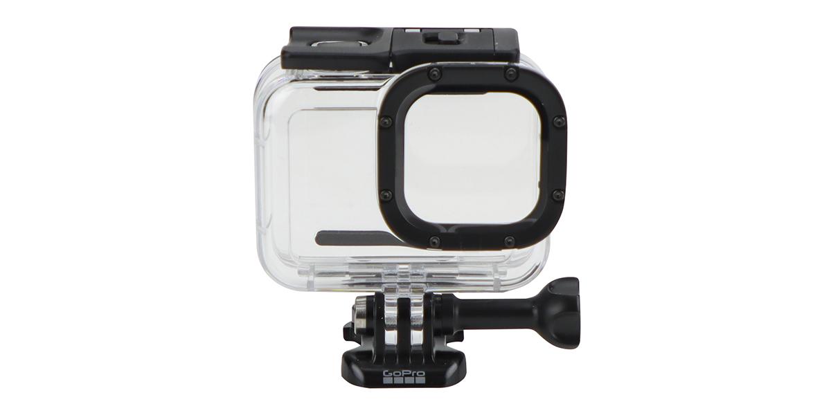 Водонепроницаемый бокс для камеры HERO8 GoPro Dive Housing (AJDIV-001) вид спереди
