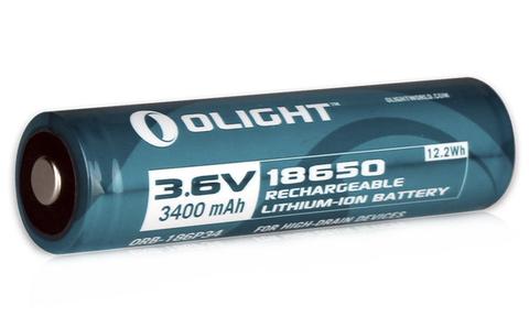 Аккумулятор Li-ion Olight ORB-186P34 18650 3,7 В. 3400 mAh