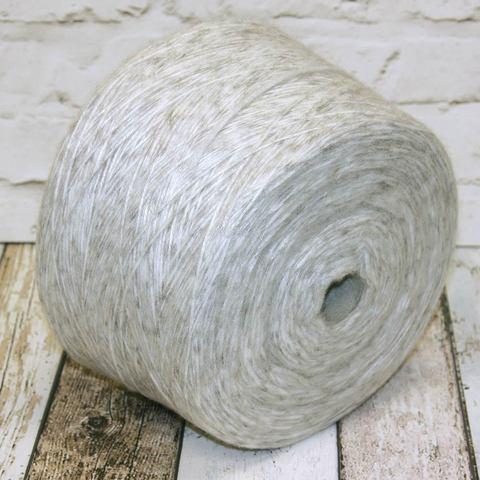 Смесовка с мохером COFIL WANDA 250 серо-белый