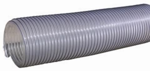Воздуховод Tex PVC 500, D 80 мм (1 метр) из ПВХ (поливинилхлорида)
