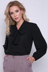 """<p>Хит сезона! Ультра модная модель для уверенной в себе дамы. Рукав длинный """"баллон""""</p> <p>. Ворот - бант.</p>"""