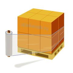 Стрейч-плёнка прозрачная, 1,2 кг./500 мм.
