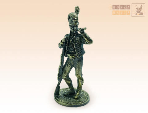 фигурка Солдат пехоты с трубкой