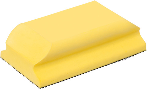Колодка для ручного шлифования с липучкой 70X125 мм