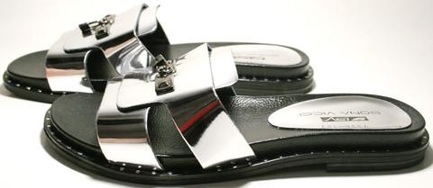 Шлепки женские - пантолеты Bona Vicci