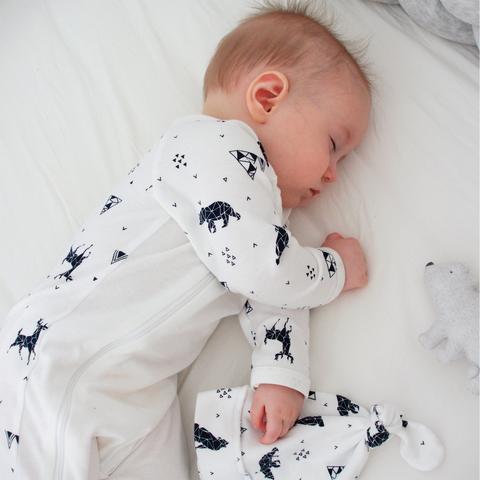Комбинезон Mjölk Sleep and Play Animals