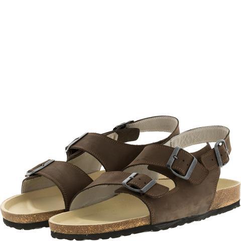 588107 сандалии мужские коричневые. КупиРазмер — обувь больших размеров марки Делфино