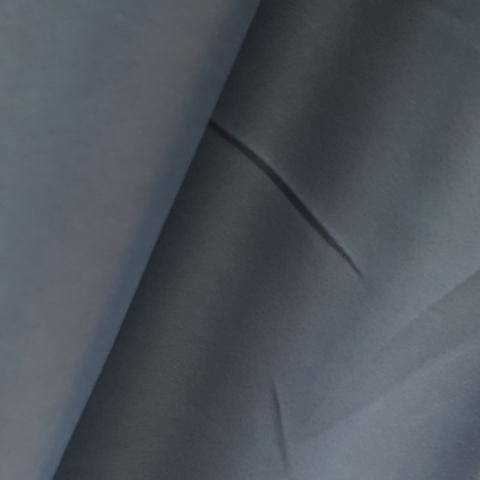 Портьерная ткань блэкаут серый. Арт. DJ/BL-7-01 - 1 метр. - 2 метра.