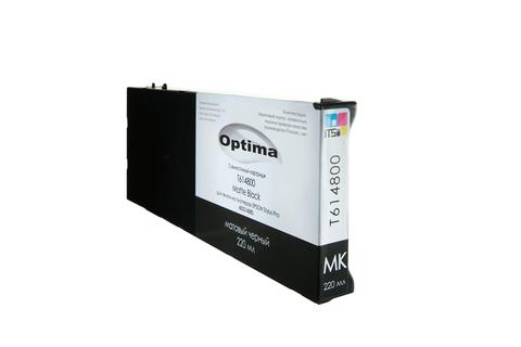 Картридж Optima для Epson 4000/7600/9600 C13T544800 Matte Black 220 мл