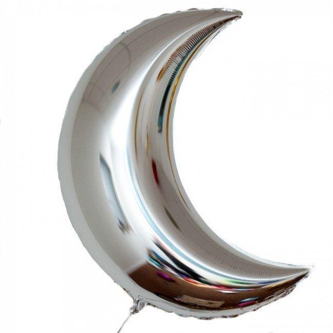 Фольгированные шары Фольгированный шар Месяц Crescent-Balloon-3.jpg