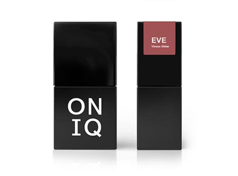 Гель-лак ONIQ Eve 125 - Vinous Glitter, 10 мл