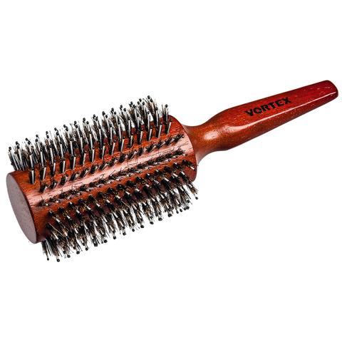 Расческа деревянная, брашинг,с пластиковыми зубчиками и натуральной щетиной