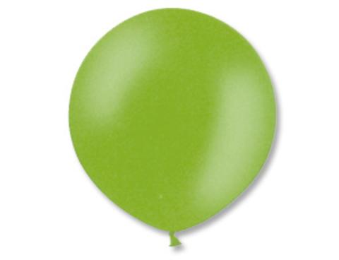 Большой шар металлик зеленый