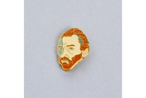 Значок эмалированный Ван Гог