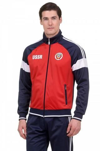 Спортивный костюм USSR 10M-AS-1254 красный мужской