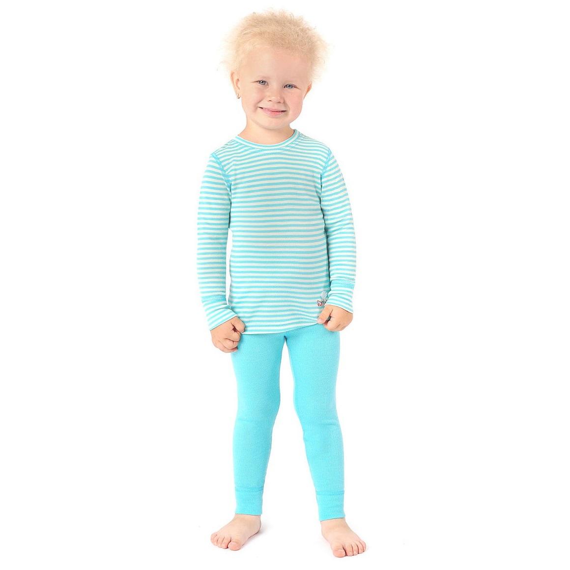 Термобелье Dr. Wool Lite голубая полоска