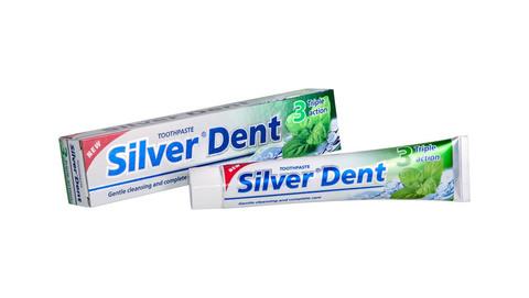 Modum Silver Dent Паста зубная Тройное действие 100г