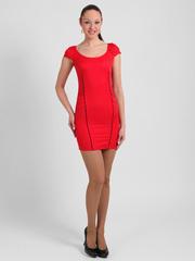 1789-1 сарафан женский, красный