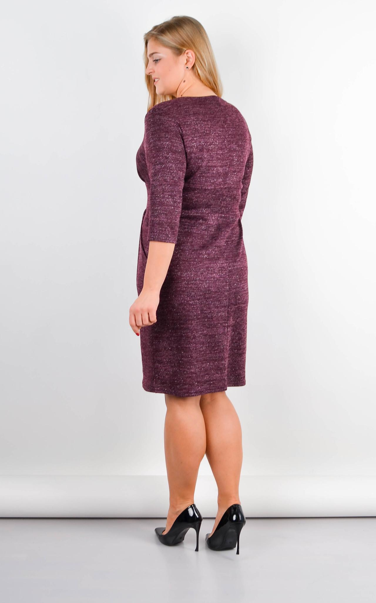 Платье Регина (бордо)