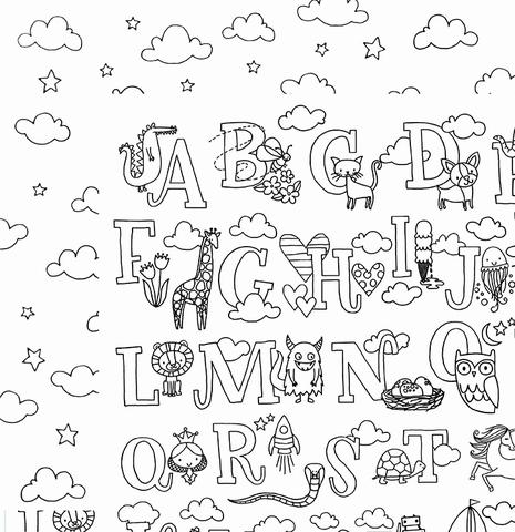 Лист двусторонней  бумаги из коллекции HALL PASS