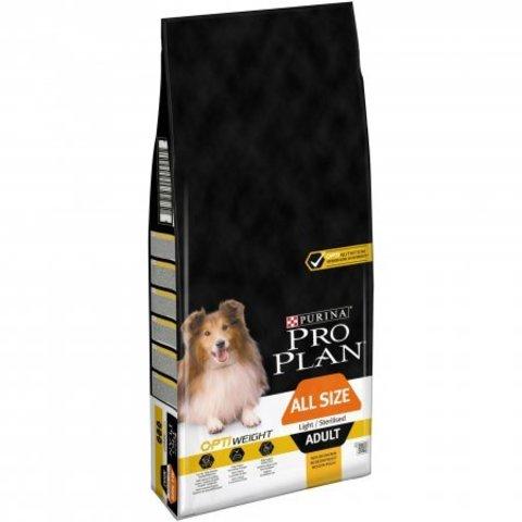Pro Plan All Size Adult Light/Sterilised 14 кг