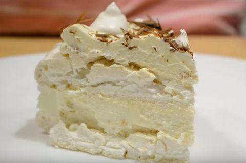 Меренговый торт без глютена особый