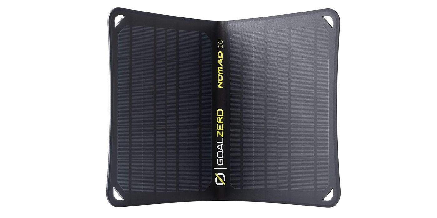Солнечная панель Goal Zero Nomad 10 вид спереди
