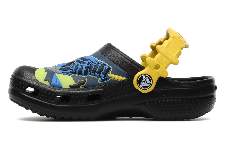 Сабо Крокс (Crocs) пляжные шлепанцы кроксы для мальчиков, цвет черный
