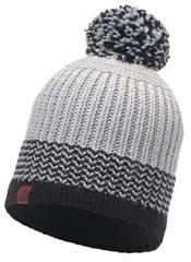 Вязаная шапка с флисовой подкладкой Buff Borae Grey