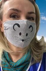Многоразовая защитная повязка для лица