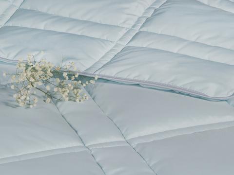 Одеяло CASABEL/Силикон голубой, 150 gr/m2