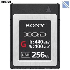 Карта памяти Sony QD-G256E XQD 256GB серия G 440/400 MB/s