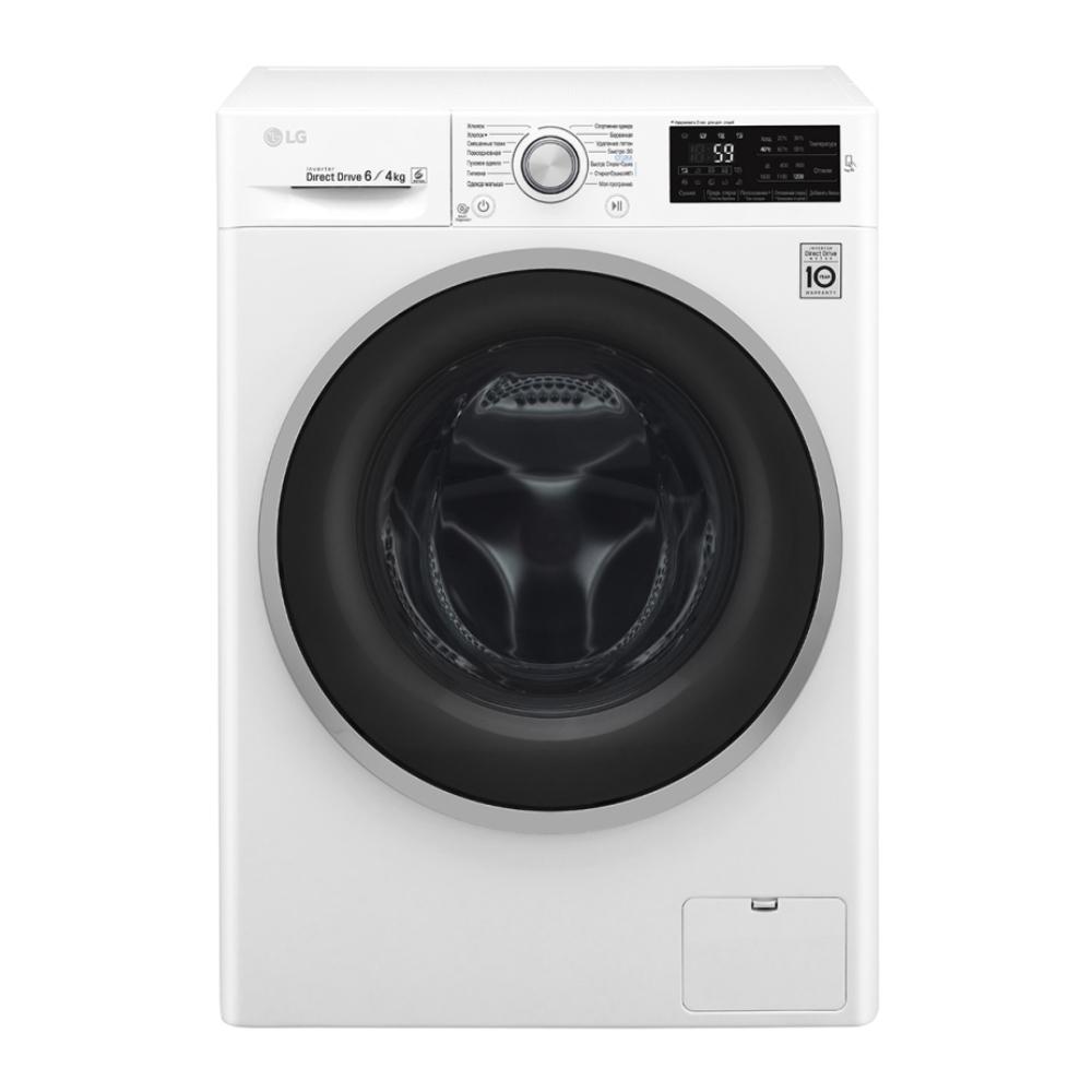 Узкая стиральная машина LG с системой прямого привода F2J6NM1W фото