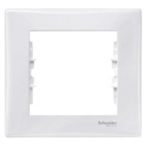 Рамка на 1 пост. Цвет белый. Schneider Electric Sedna. SDN5800121