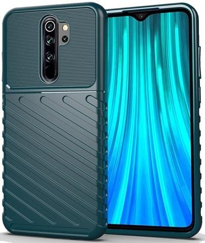 Чехол Xiaomi Redmi Note 8 Pro цвет Green (зеленый), серия Onyx, Caseport
