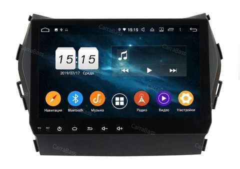 Штатная магнитола  Hyundai SantaFe, ix45 2012-2018 Android 9.0 IPS DSP 4/64GB