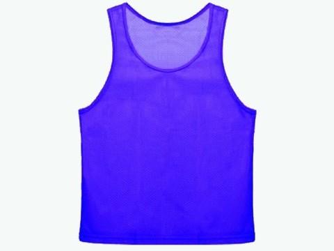 Манишка сетчатая. Цвет: синий. Размер М.