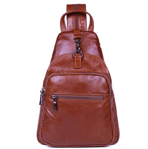Кожаный рюкзак JMD 4005