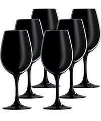 Набор бокалов для дегустации вина 299 мл, 6 шт, черные, фото 1