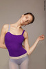 Strap leotard colour | violet